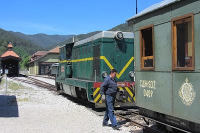 trein Mokra Gora