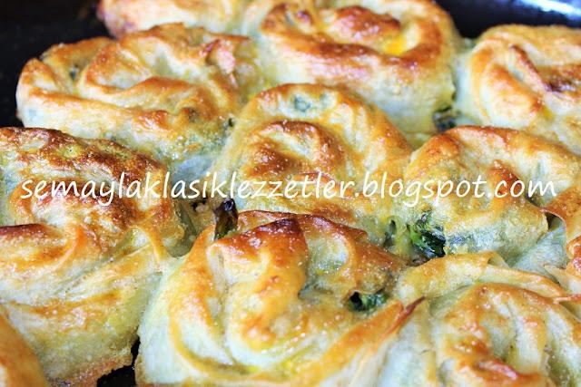 Sarma Ispanak Böreği