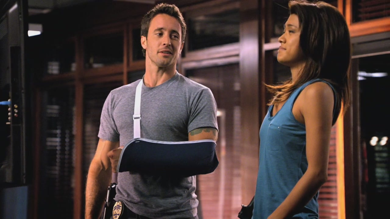 O'LAUGHING PRESS: McGarrett's Uninterrupted Break: the real