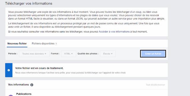حذف حساب فيسبوك