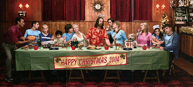 The Last Supper 2004 by photographer Jim Fiscus