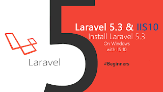Installing Laravel 5.3 on Windows with IIS