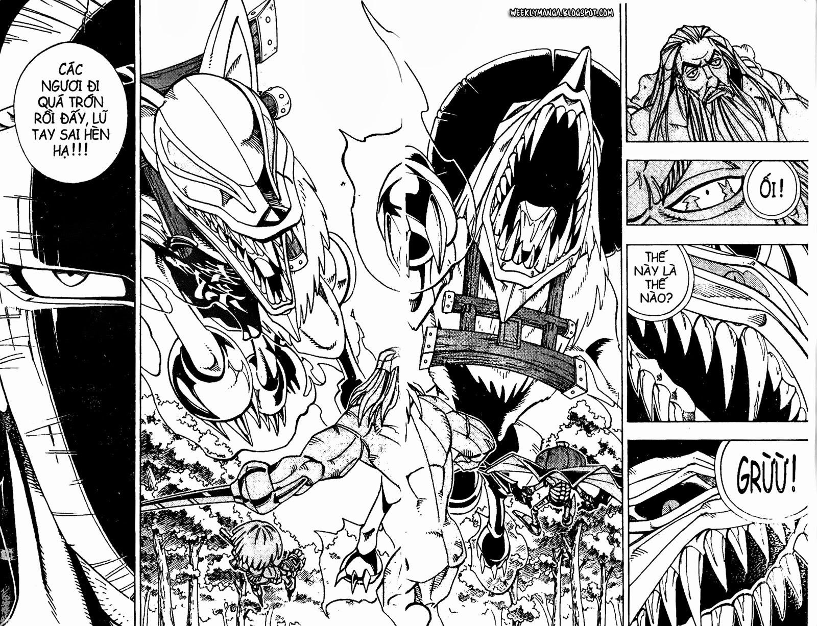 Shaman King [Vua pháp thuật] chap 160 trang 14