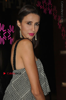 Indian Actress Model Alesia Raut Stills in Sleeveless Long Dress  0020.JPG