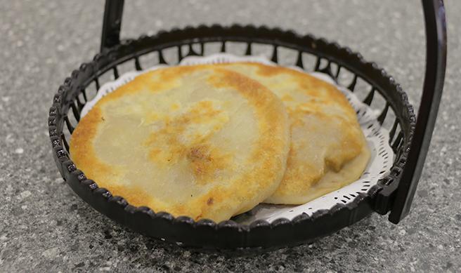 Beef Onion Pancake