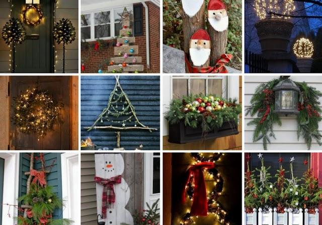 Χριστουγεννιάτικες ιδέες για ΚΗΠΟ-ΜΠΑΛΚΟΝΙ