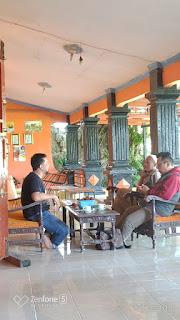 Koordinasi dan sharing dengan perumus calon pagari tegal salwi