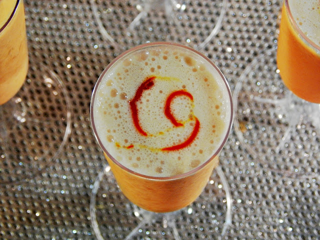 Orange CreamCocktail with #DrinkTEN products. #Shop