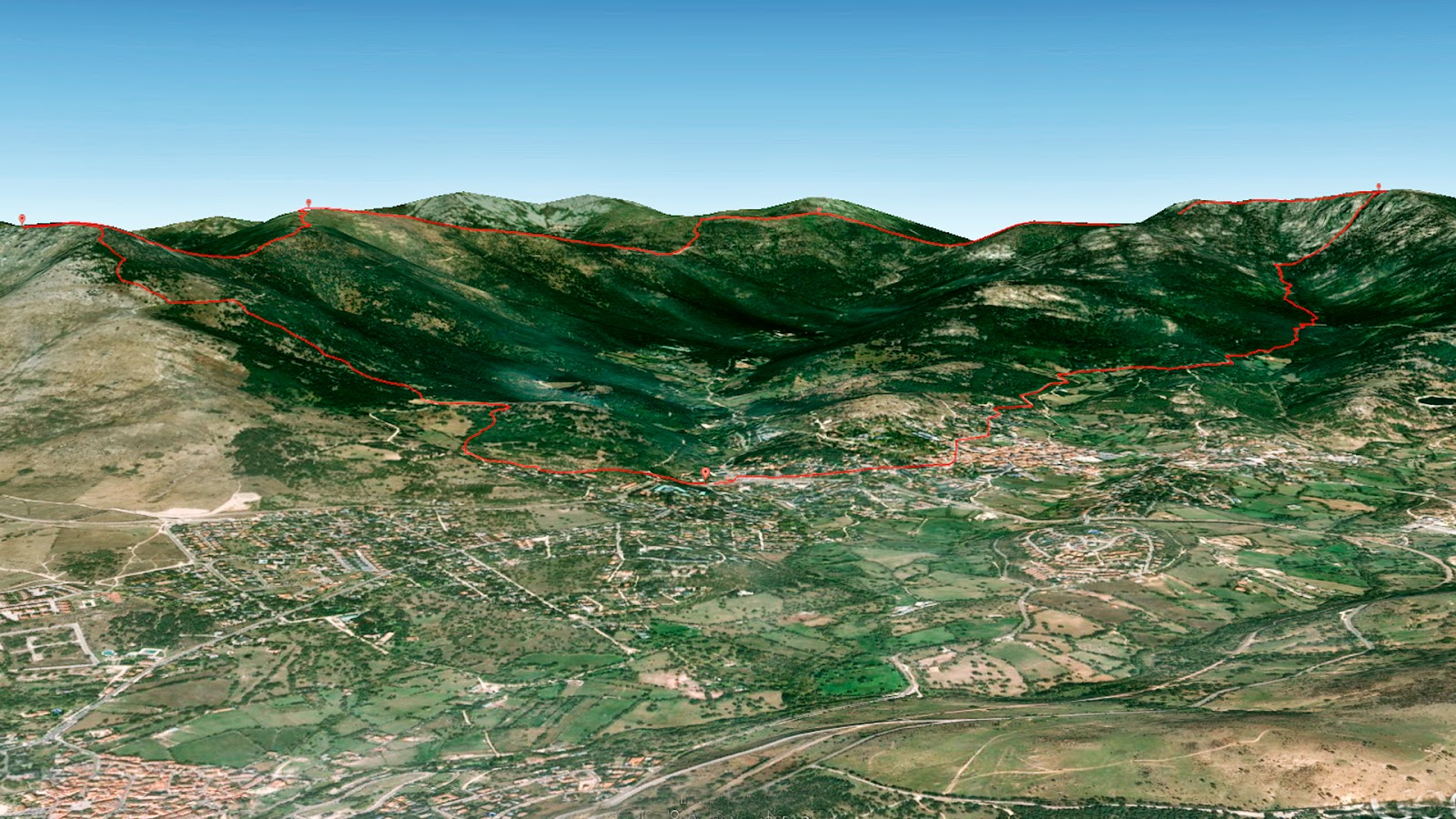 Montaña Nevada Hd: Cercedilla Trail
