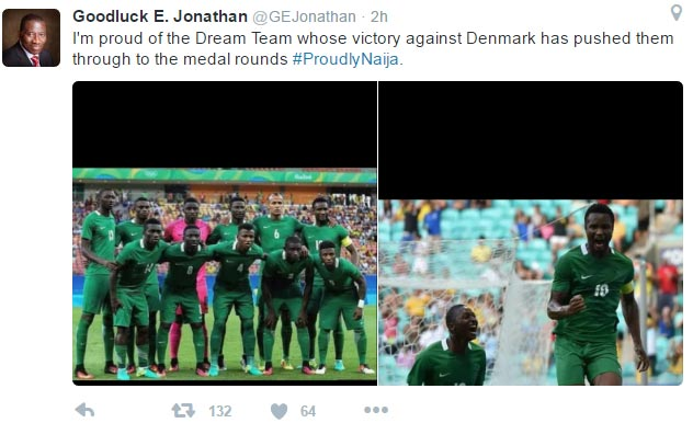 GEJ congratulates U23 Eagles over Denmark win