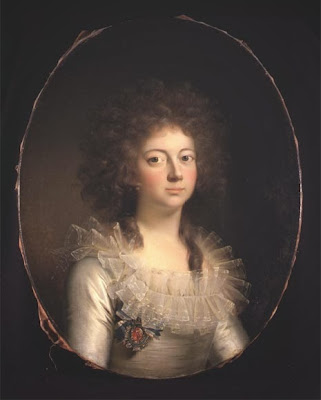Marie of Hesse-Kassel by Jens Juel, 1790