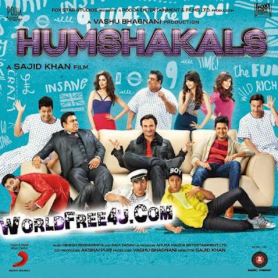 Poster Of Hindi Movie Humshakals (2014) Free Download Full New Hindi Movie Watch Online At worldfree4u.com