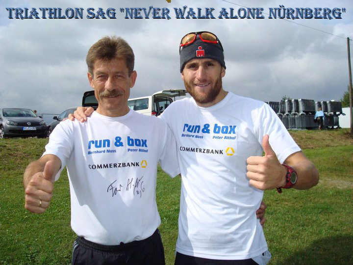 Triathlon SAG Never Walk Alone Nürnberg