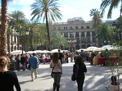 Plaça del Rei - Barcelona per Teresa Grau Ros