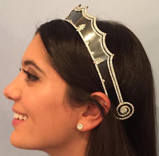 cartier blackened steel tiara henri picq
