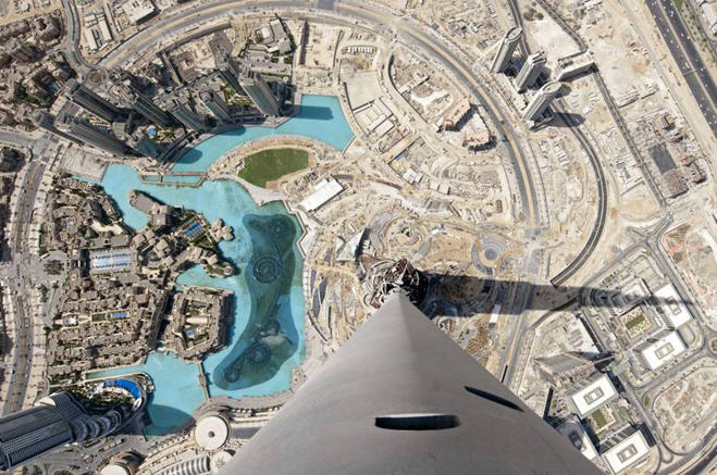 Explore Views from the top of the Burj Khalifa with Google Map | CG Daily News