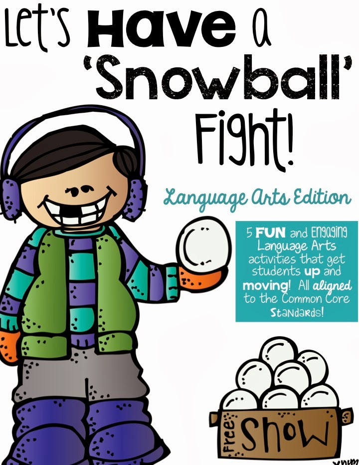 http://www.teacherspayteachers.com/Product/Lets-Have-a-Snowball-Fight-Language-Arts-Edition-1048261