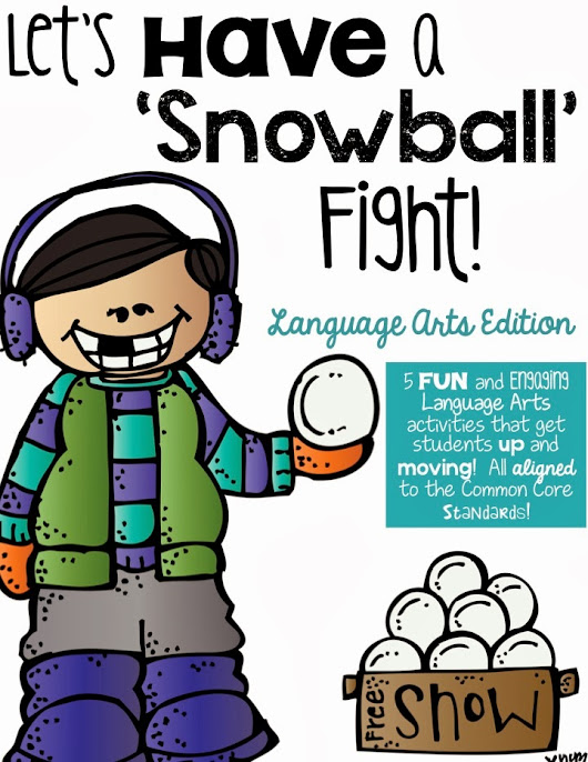 Classroom Snowball Fights!