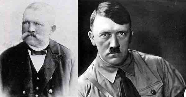 adolf hitler as rizal progeny Jose rizal was born on june 19,1861 and died on december 31,1896 while adolf hitler was born on april 20, 1889 in braunau am inn, austria-hungary and died on april 30, 1945 i decided to check the timeline of jose rizal's travels that will contradict the claim that he was the father of adolf hitler.