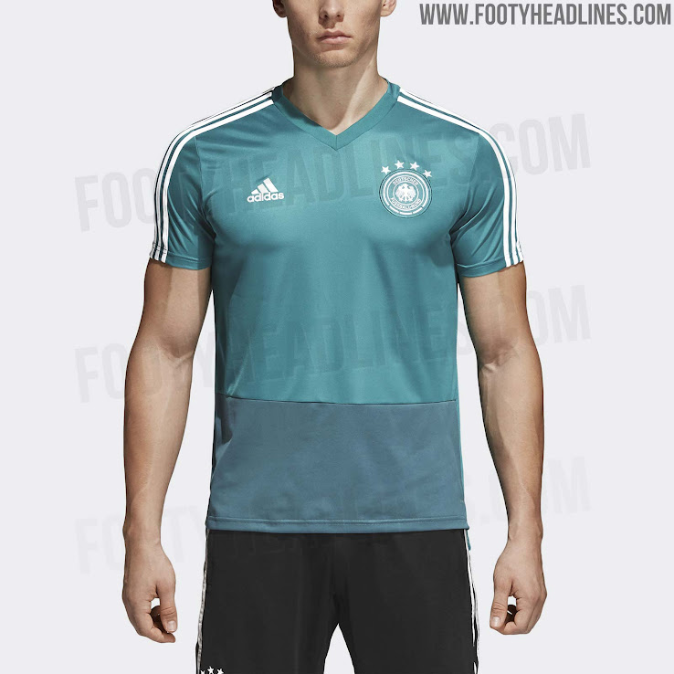 6f3413786fc Germany 2018 World Cup Training Collection Leaked - Footy Headlines
