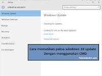 Cara Mudah Mematikan Paksa Windows 10 Update Menggunakan Comand Promt (CMD)