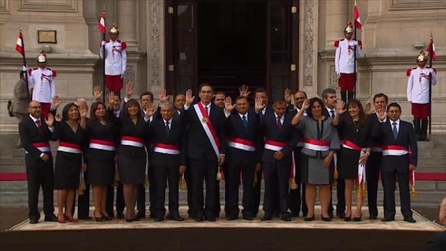 Presidente peruano alcanza su más alta desaprobación