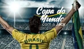 Promoção Jacy Construtora 2018 Vibre Copa do Mundo Compre Ganhe Tv e Camisas Seleção