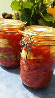 Poivrons fermentés ;Poivrons fermentés