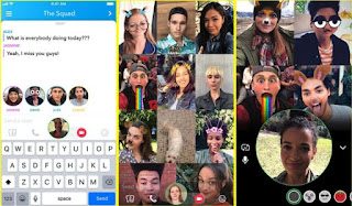 Snapchat now allows 16-person group video calls