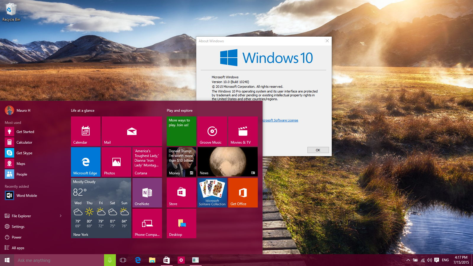 Windows 10 pro build 10240 iso 32 64 bit free download tech by spr windows 10 pro build 10240 iso 32 64 bit free download ccuart Choice Image
