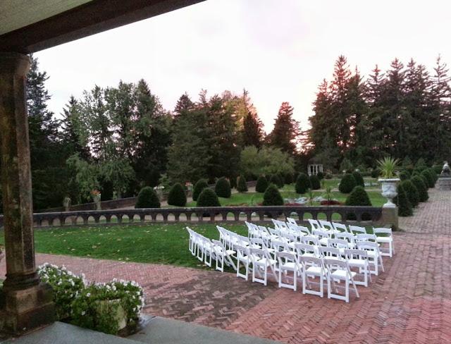 Wedding Venues In The Finger Lakes sonnenberg gardens wedding