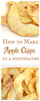 How to make apple chips in a dehydrator