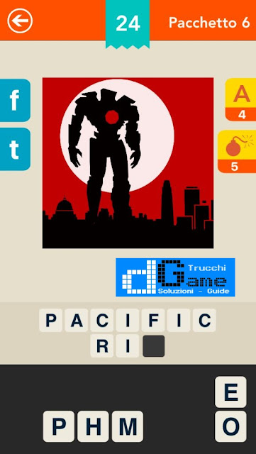Indovina il film! Logo Quiz soluzione pacchetto 6 livelli 1-25