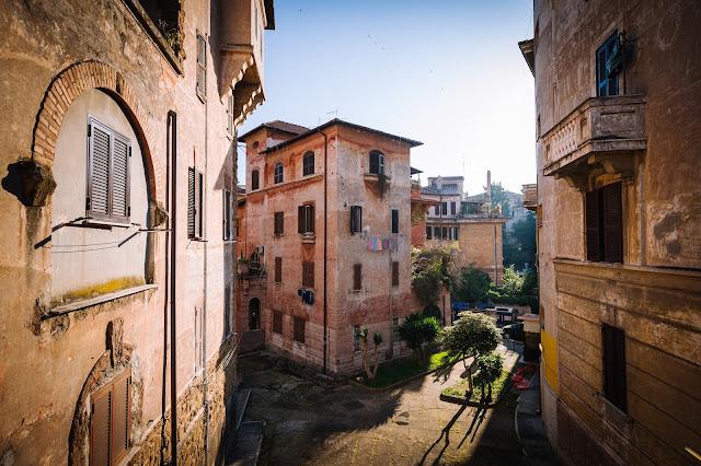 Barrios Roma pasear recorrer familia