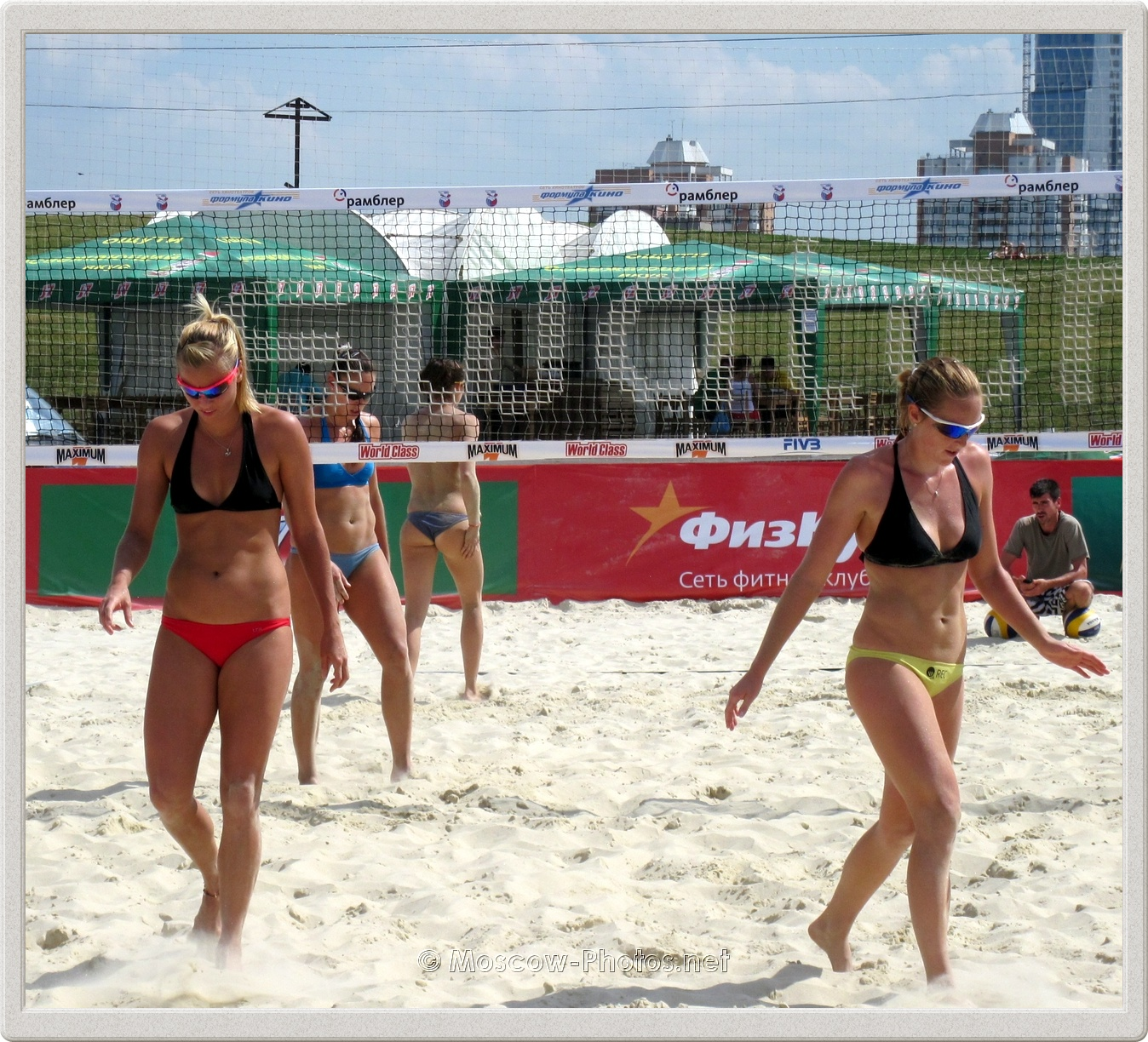 Marketa Slukova & Kristyna Kolocova at Beach Volleyball Tour