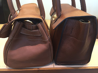 Mulberry Small Bayswater old and new