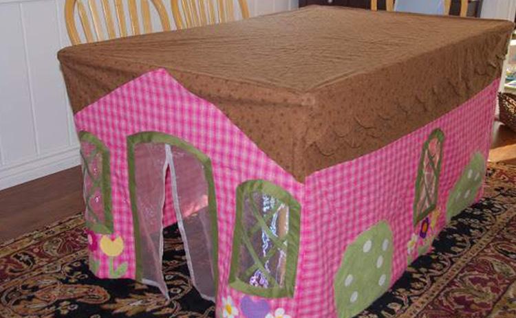 tenda de mesa para crianças