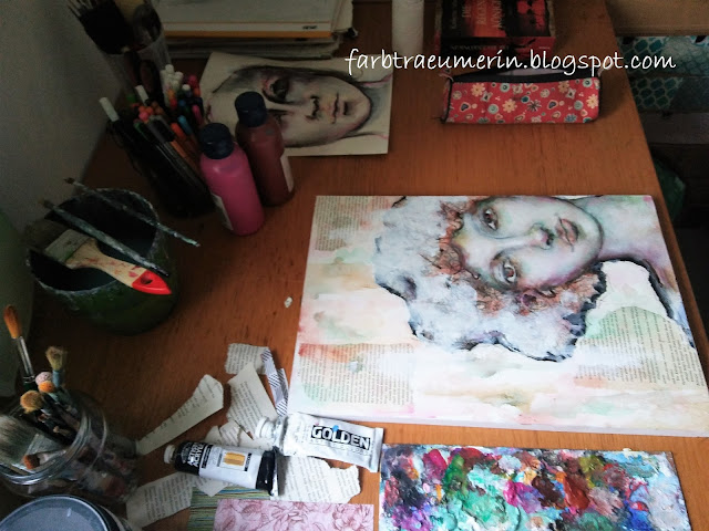 Malprozess, Porträt malen