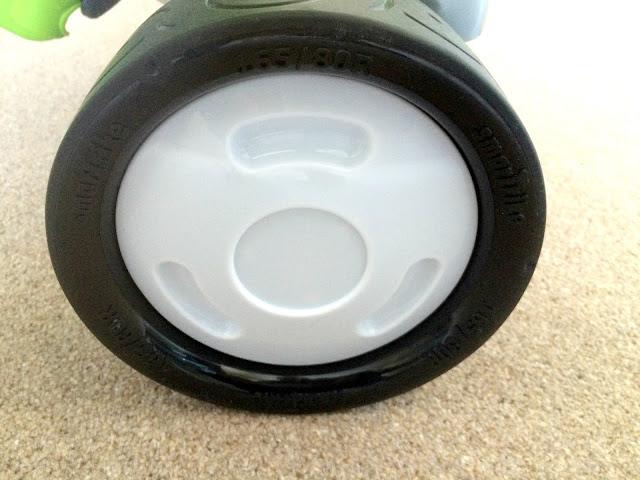 wheel on trike