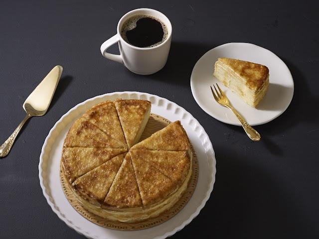 Starbucks Vanilla Crepe Cake