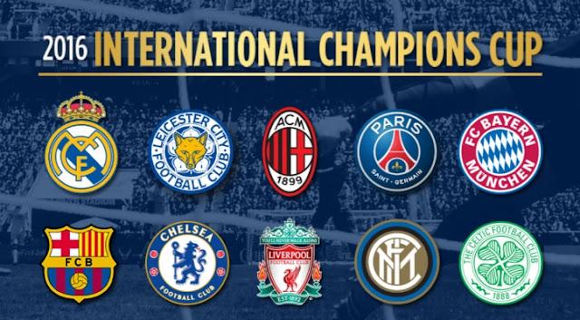 International Champions Cup 2016 Teams