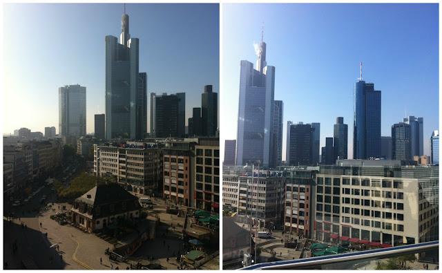 Frankfurt vista da Galeria Kaufhof