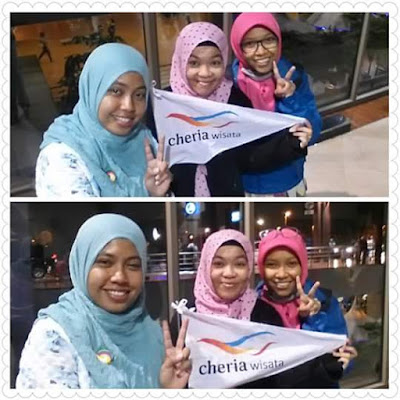 Day-1 - Trio Blogger Mencari Keindahan Islam di Negeri Tirai Bambu