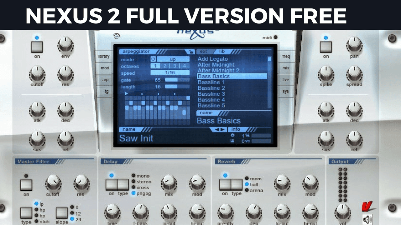 Refx nexus2 free download.
