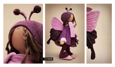 """Часть 2.  """"Часть 1. Чудный мир Тильдомании.  Сборник.  Татьяна Коннэ продолжает удивлять.  Текстильные куклы."""