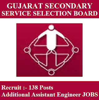 Gujarat Subordinate Service Selection Board, GSSSB, Gujarat, Assistant Engineer, Graduation, freejobalert, Sarkari Naukri, Latest Jobs, gsssb logo