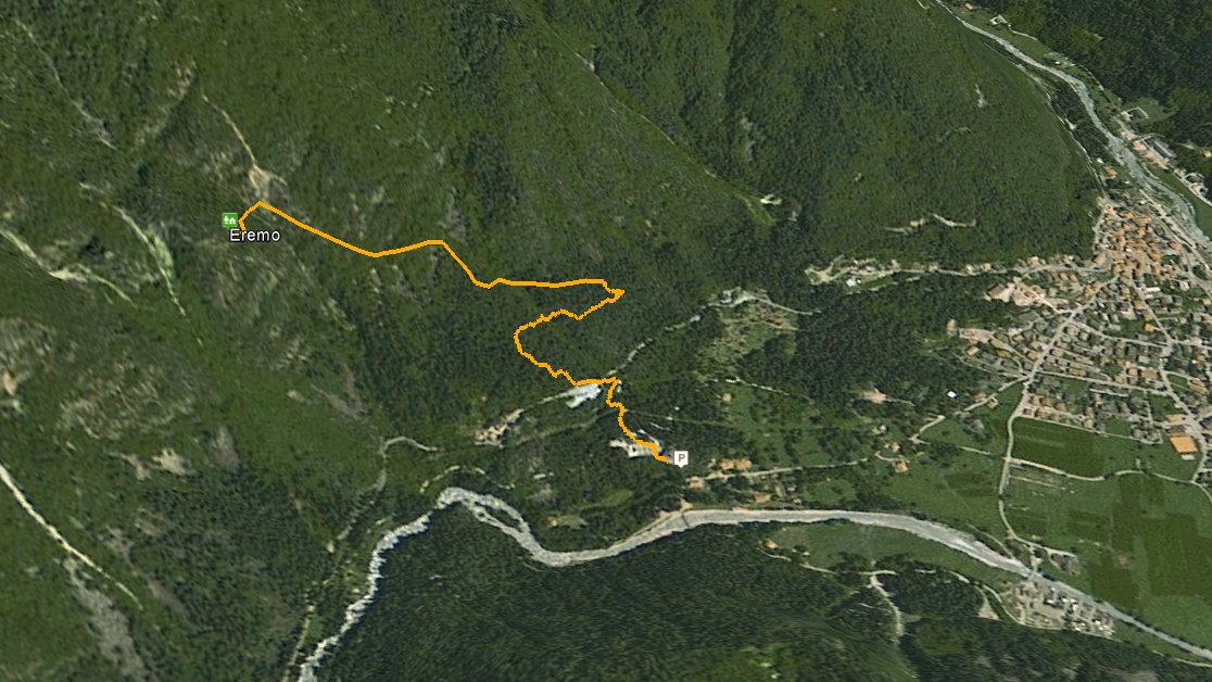 GPS eremo di san martino