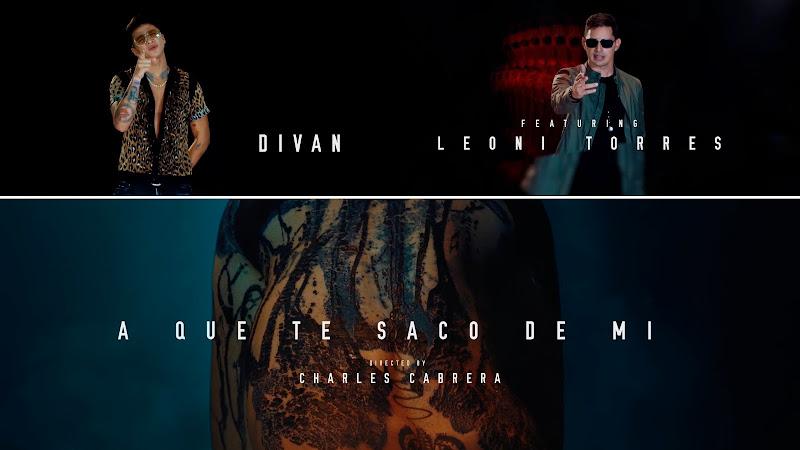 DIVAN y Leoni Torres - ¨A que te saco de mi¨ - Videoclip - Dirección: Charles Cabrera. Portal del Vídeo Clip Cubano