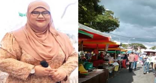 Wanita Ini Di Hina Di Bazar Ramadhan - Gara-Gara Gemok !