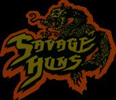 Logo banda Savage Huns
